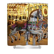 Carosel Horse Shower Curtain