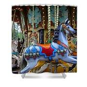 Carousel 1 Shower Curtain