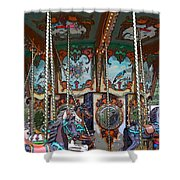 Carousel 2 Shower Curtain