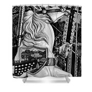 Carousel Beauty Salem Oregon 12  Shower Curtain