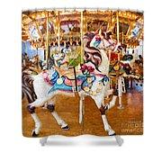 Carousel Dreams Shower Curtain