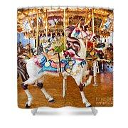 Carousel Dreams II Shower Curtain