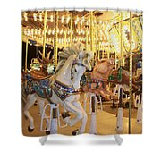 Carousel Horse 2 Shower Curtain