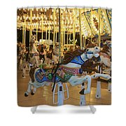 Carousel Horse 3 Shower Curtain