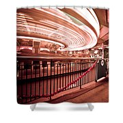 Carousel Lights #2 Shower Curtain