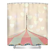 Carousel Tent Shower Curtain