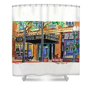 Carpenter Hotel-rain Shower Curtain