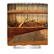 Carpenter's Toolbox - Not Free Do Not Copy Shower Curtain