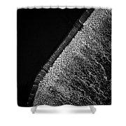 Carpentersville Dam Shower Curtain