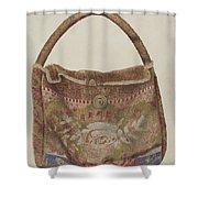 Carpet Bag Shower Curtain