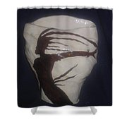 Carribean Lady  Shower Curtain