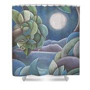 Carribean Night Shower Curtain