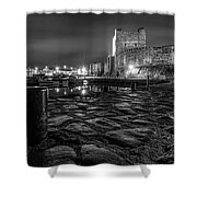 Carrickfergus Castle 7 Shower Curtain
