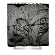 Carried -plaque Shower Curtain