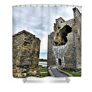 Carrigafoyle Castle - Ireland Shower Curtain