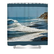 Carrillo Beach Shower Curtain