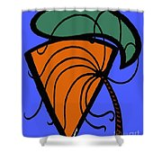 Carrot And Stick Shower Curtain