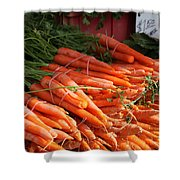 Carrot Bounty Shower Curtain