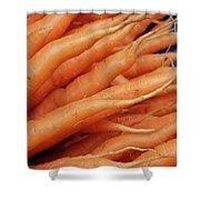 Carrot Market Bergen Shower Curtain