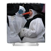 Carrot Nose 2 Shower Curtain