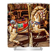 Carrousel Horse Ride Shower Curtain