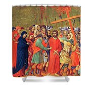 Carrying Of The Cross 1311 Shower Curtain
