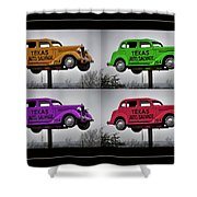 Cars Shower Curtain
