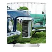 Cars Show Shower Curtain