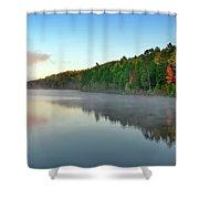 Carson Lake This Fall Shower Curtain