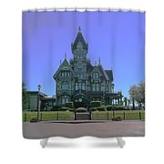 Carson Mansion Shower Curtain