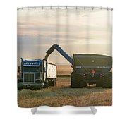 Cart Into Truck Shower Curtain