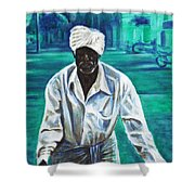 Cart Vendor Shower Curtain