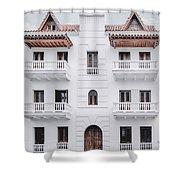Cartagena De Indias Shower Curtain