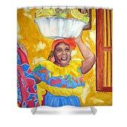 Cartagena Peddler II Shower Curtain