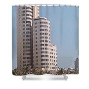 Cartagena Towers Shower Curtain