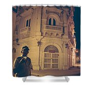 Cartagena Watchman Shower Curtain