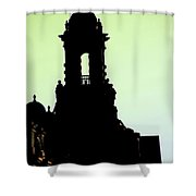 Cartas Shower Curtain
