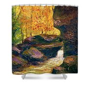 Carter Caves Kentucky Shower Curtain