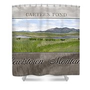 Carter's Pond Shower Curtain