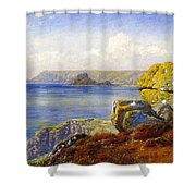 Carthillon Cliffs Shower Curtain