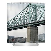 Cartier Bridge Day Shower Curtain