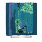 Cartoon Altar Of The Exotic #1 Shower Curtain