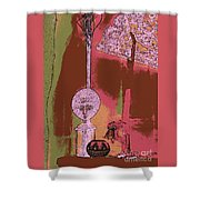 Cartoon Altar Of The Exotic #5 Shower Curtain