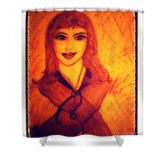 Cartoon Version Lois Lane Shower Curtain