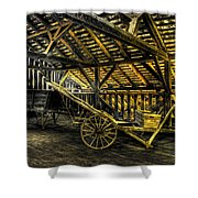 Carts Before The Horse Shower Curtain