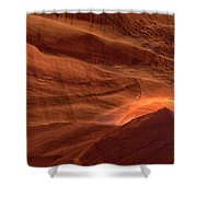 Carved By Nature Shower Curtain