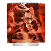 Carved Canyon Wals Shower Curtain