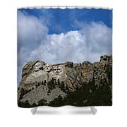 Carved In Stone For Eternity Shower Curtain
