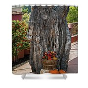 Carving And Pumpkins Shower Curtain