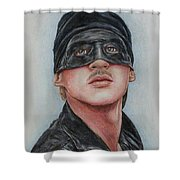 Cary Elwes / Westley / The Princess Bride Shower Curtain